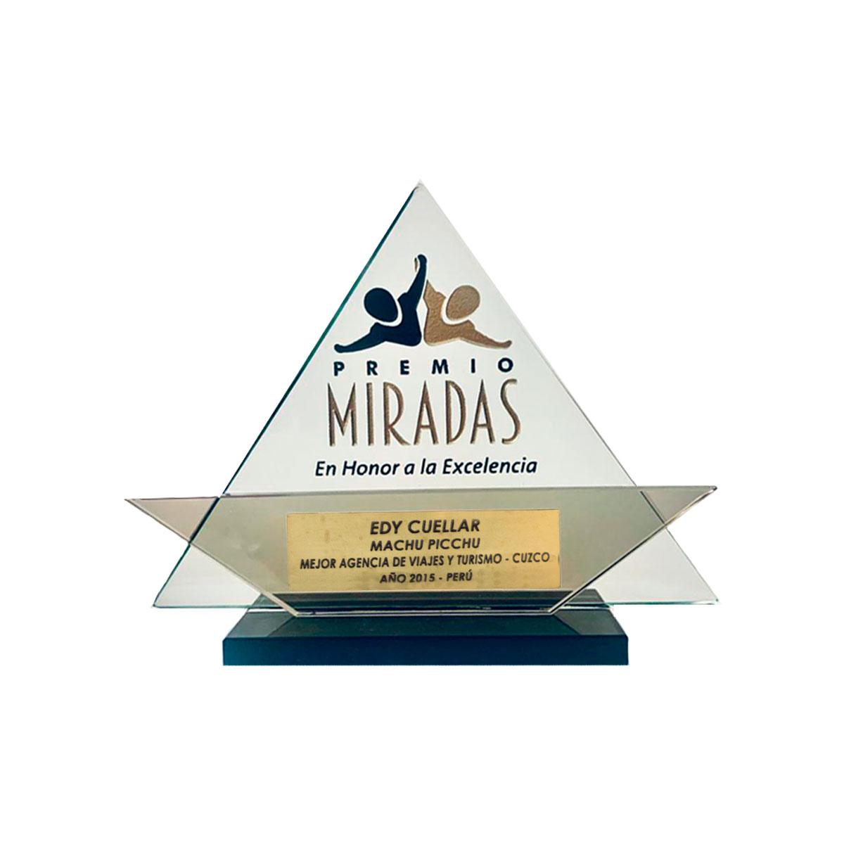 Premio Miradas en honor a la excelencia 2015