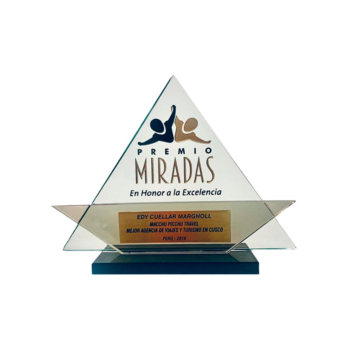 Premio Miradas en honor a la excelencia 2016 title=