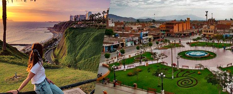 Viaje en bus Lima Nazca