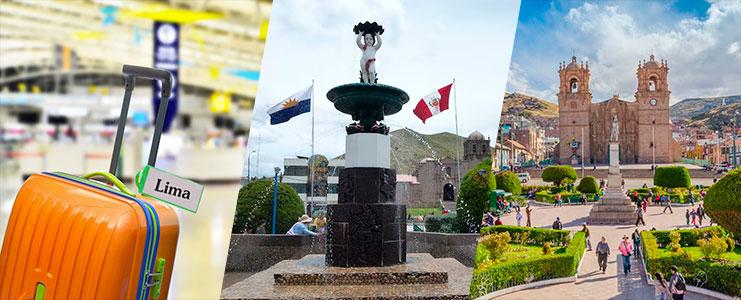 Viaje aereo de Juliaca a Lima