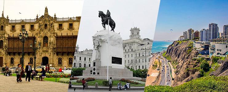 City tour Lima