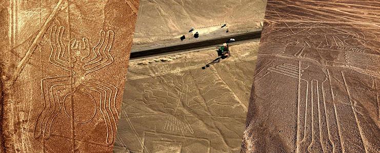 Sobre vuelo Lineas de Nazca