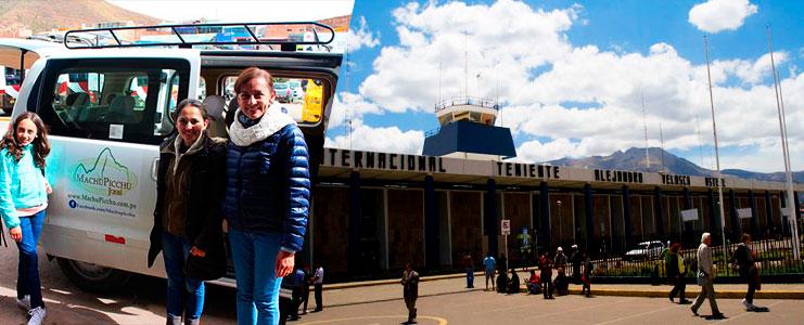 Traslado al aeropuerto del Cusco