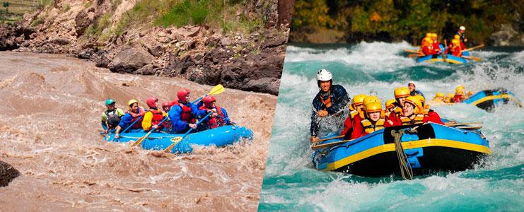 canotaje rio Vilcanota - Cusco