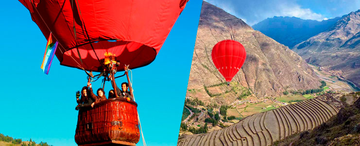 Globo arerostatico en Cusco
