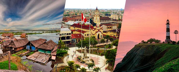 Viaje de Iquitos a Lima