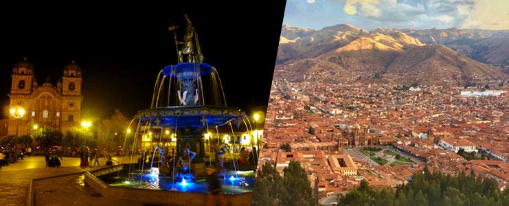 Viaje aereo a Cusco