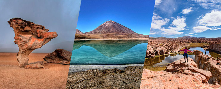 Tour Laguna Colorada - verde