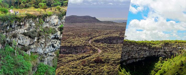 Tour crateres de los Gemelos